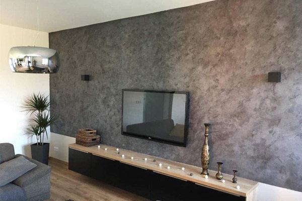betonová stěrka na stenu do interiéru 1