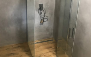 betonová stěrka do sprchy do sprchovacího koutu