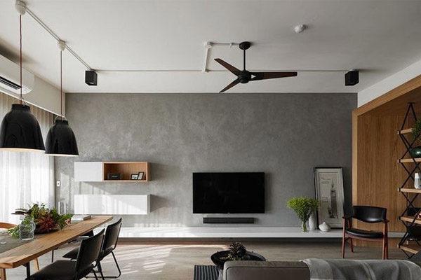 Betonová stěrka interiér