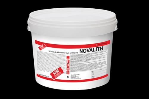 Fasádní silikátová omítka Novalth