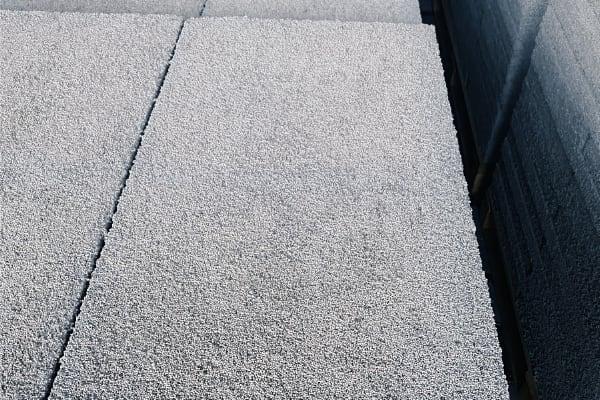 Detail beton polystyrenové desky