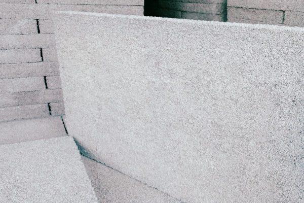 Detail polystyren betonové desky Styrcon